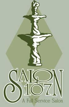 Salon 107 Logo